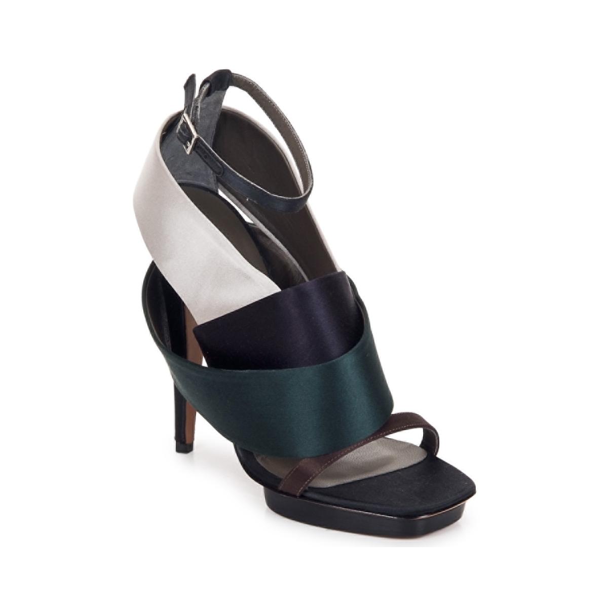 Sandals Kallisté NU-PIED 5801 Silver