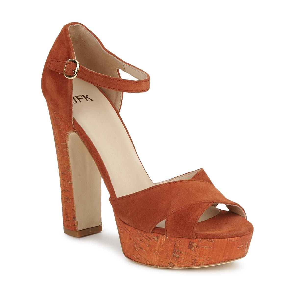 Sandals JFK  Orange