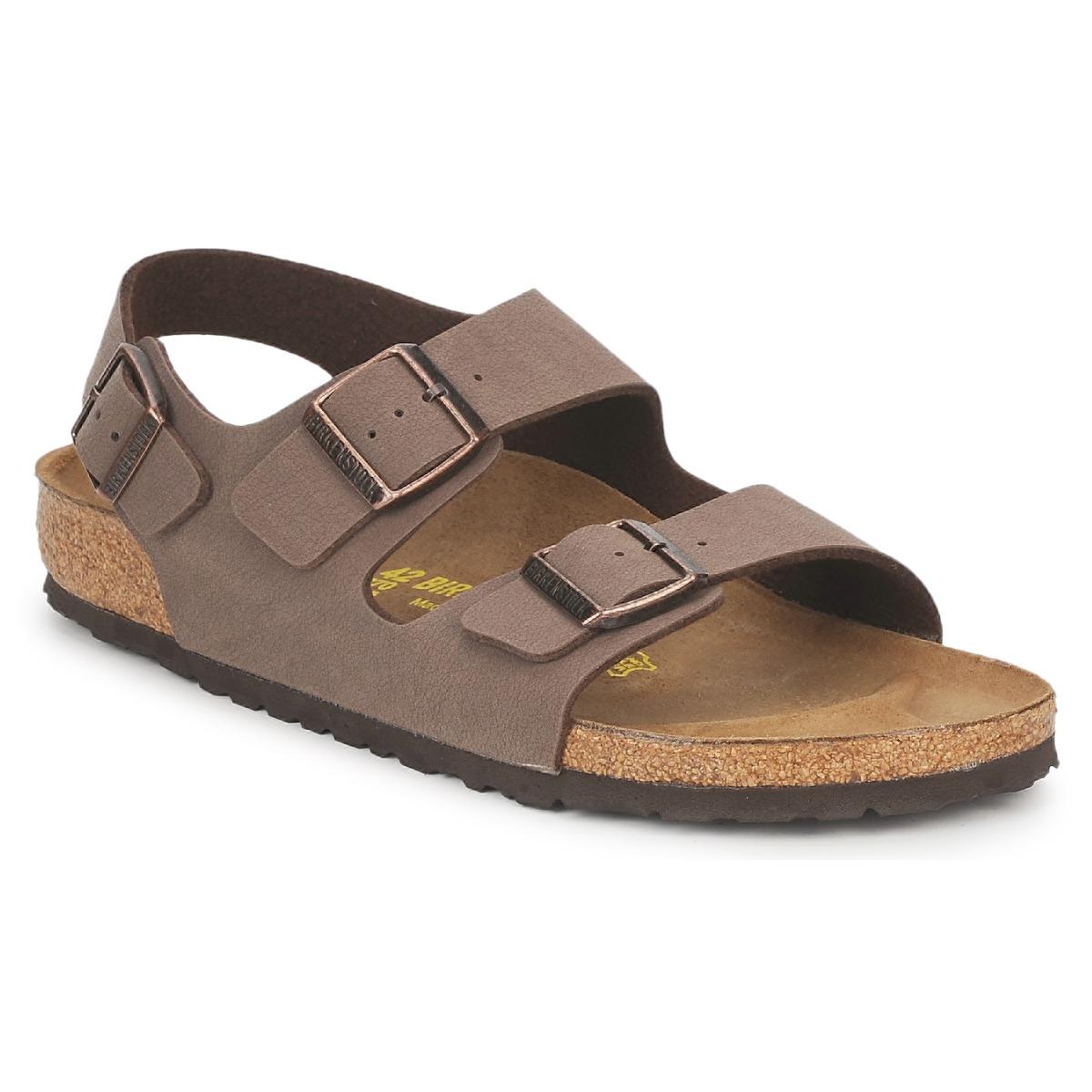 Sandals Birkenstock MILANO Brown