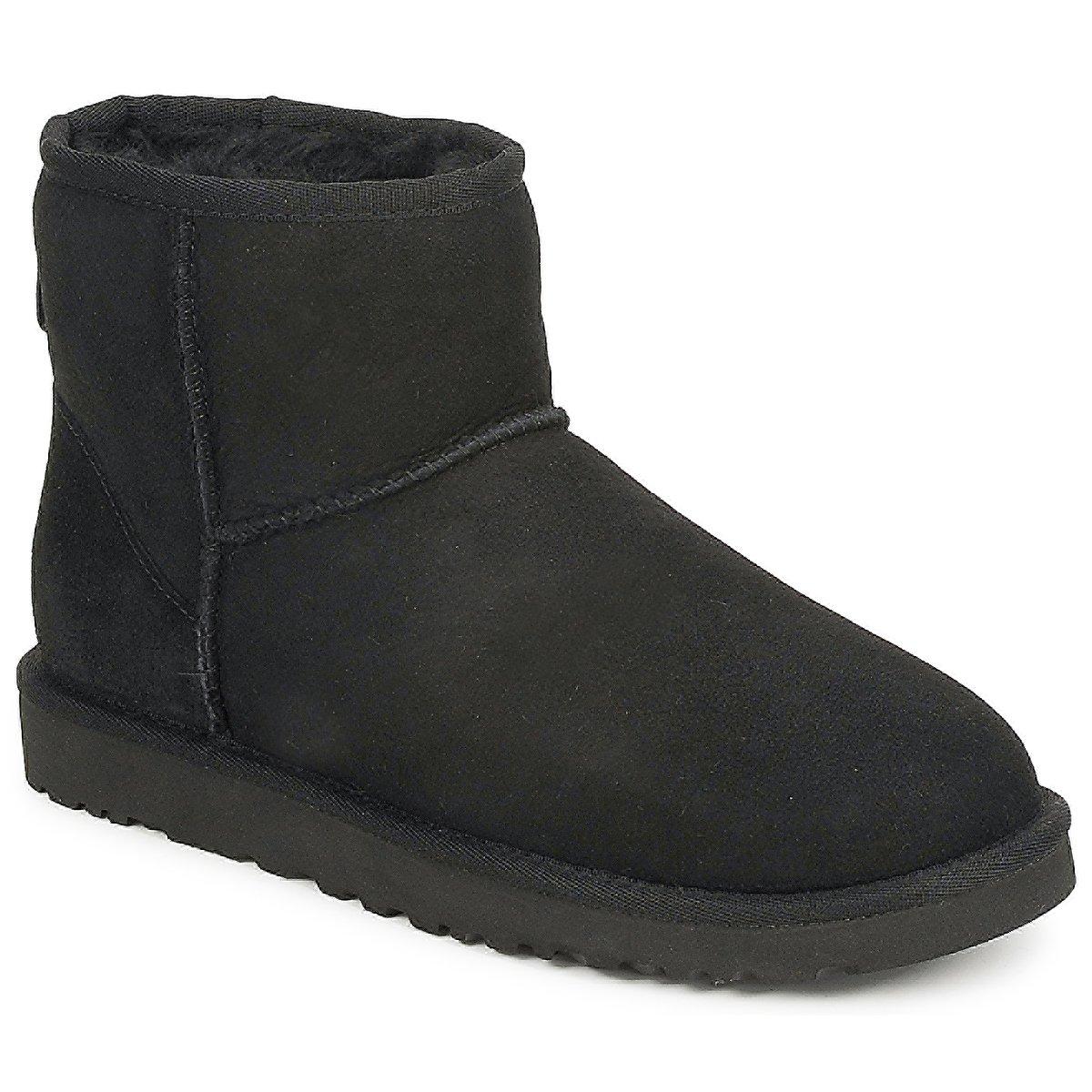 ugg boots classic mini black. Black Bedroom Furniture Sets. Home Design Ideas