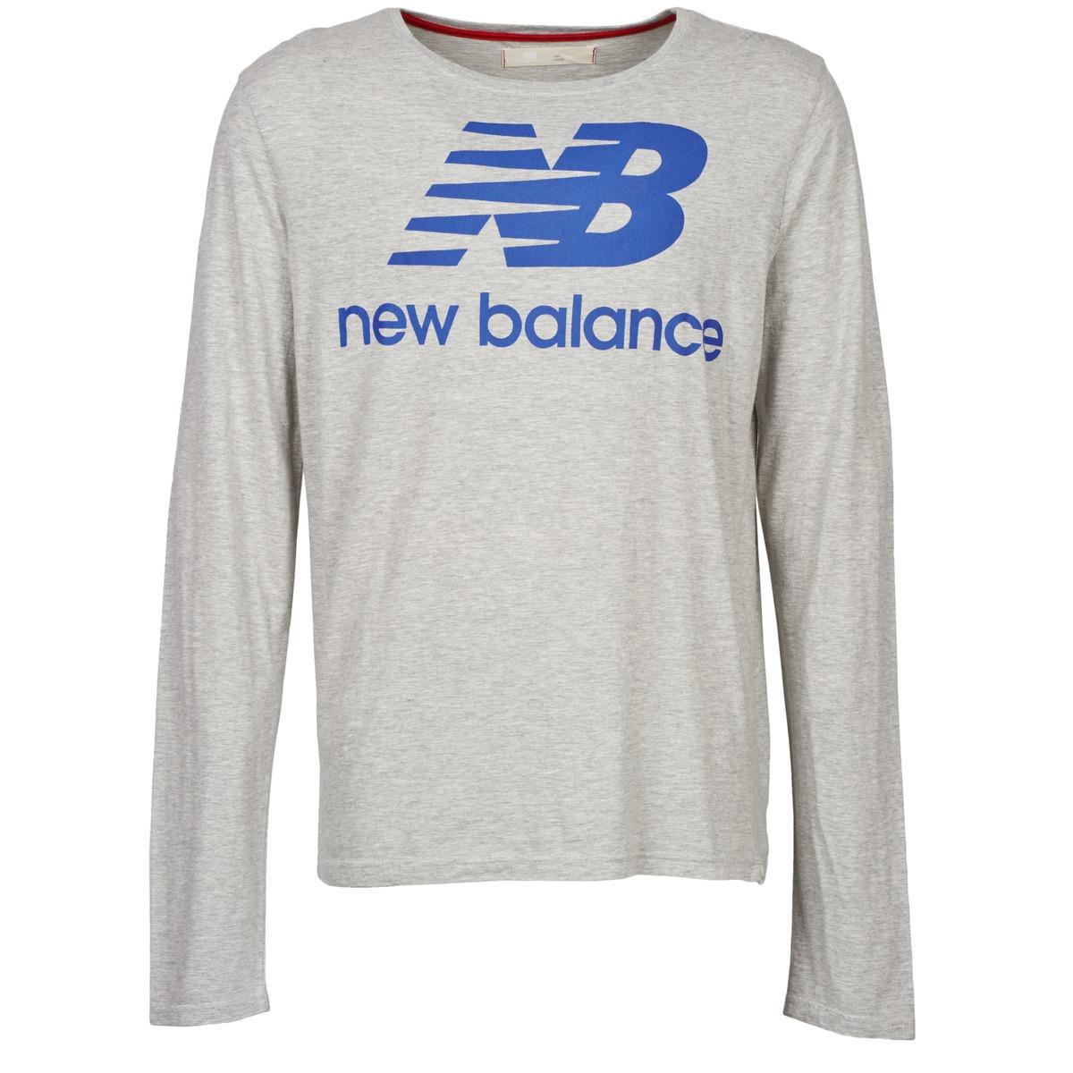 New Balance NBSS1403 LONG SLEEVE TEE Grey