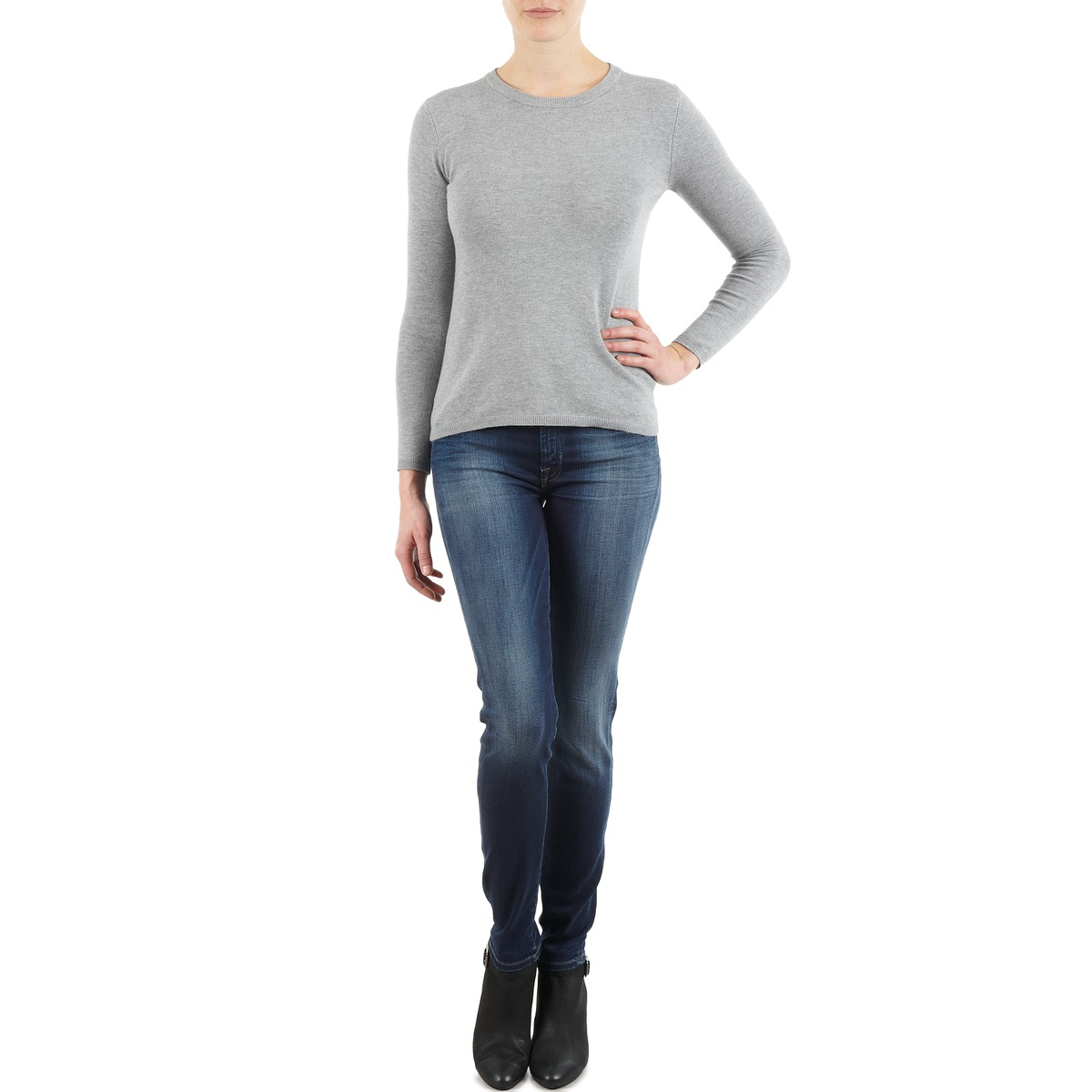 7 for all Mankind THE SKINNY NEW ORL FLAME Blue