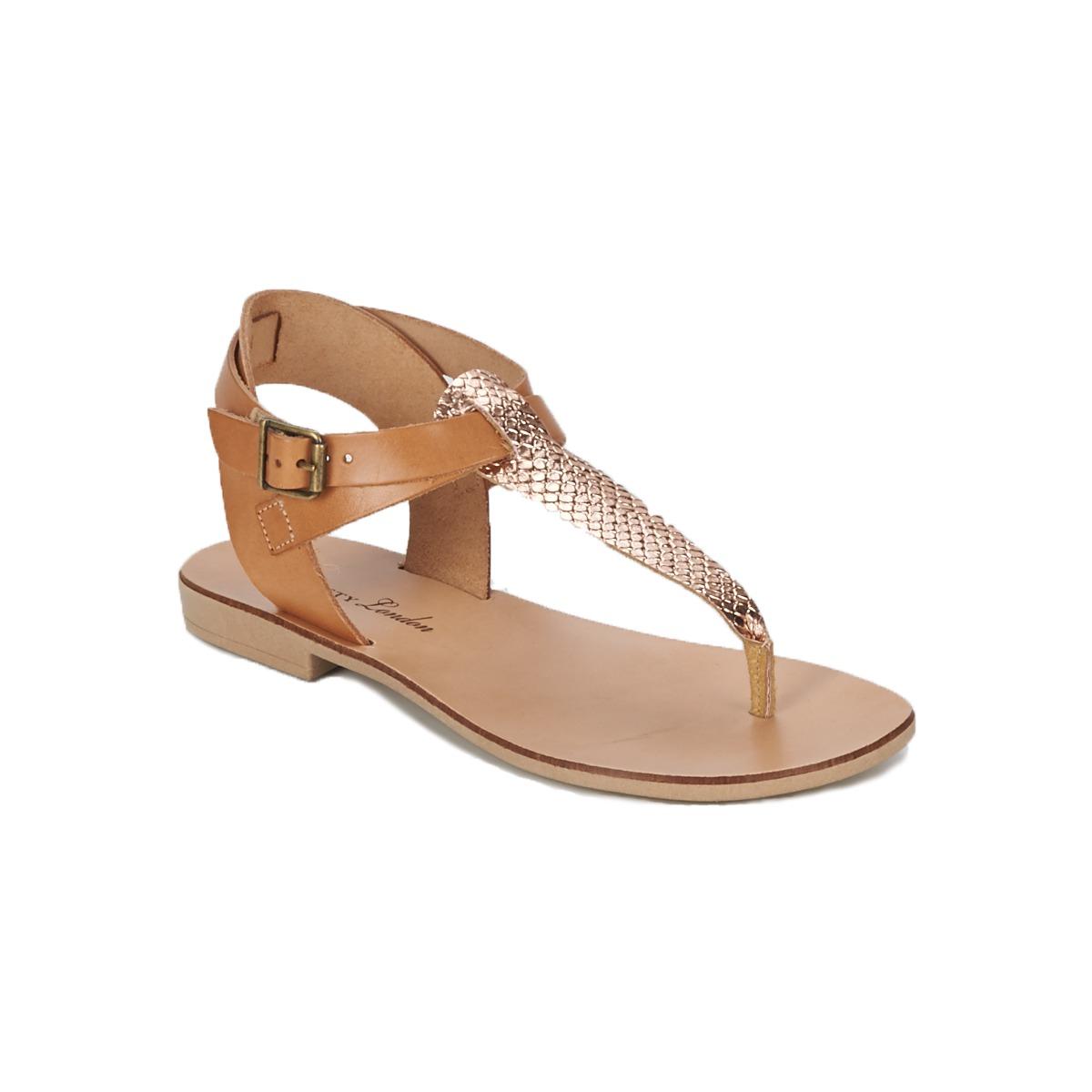 Sandals BT London VITALLA CAMEL / Pink