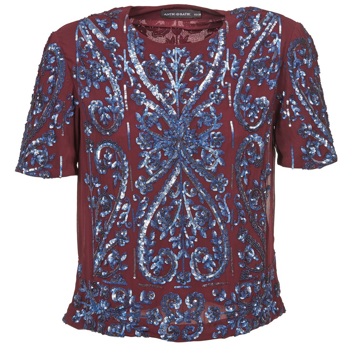 Blouses Antik Batik NIAOULI BORDEAUX