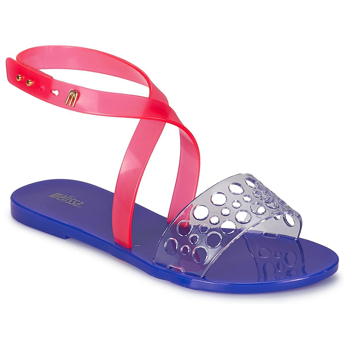 Sandals Melissa TASTY Blue / Pink