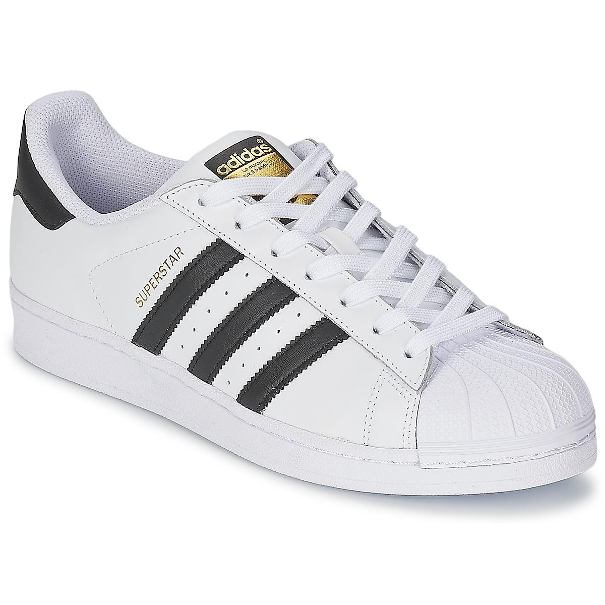 adidas Originals SUPERSTAR White / Black