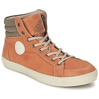 Shoes Men High top trainers Pataugas CLEFT H Camel