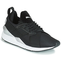 Shoes Women Low top trainers Puma WN MUSE SATIN II.BLACK Black