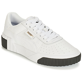 Shoes Women Low top trainers Puma WN CALI FASHION.WH-BL White / Black