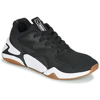Shoes Women Low top trainers Puma WN NOVA 90'S BLOC.BL-BL Black