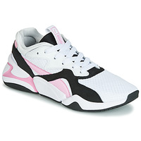 Shoes Women Low top trainers Puma WN NOVA 90'S BLOC.WH-LILAC White