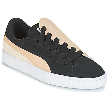 Shoes Women Low top trainers Puma WN BASKET CRUSH PARIS.SILV Black
