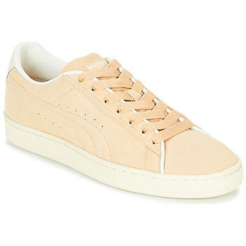 Shoes Low top trainers Puma SUEDE RAISED FS.NA V-WHIS Beige
