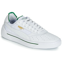 Shoes Men Low top trainers Puma CALI.WH-AMAZON GREEN-WH White / Green