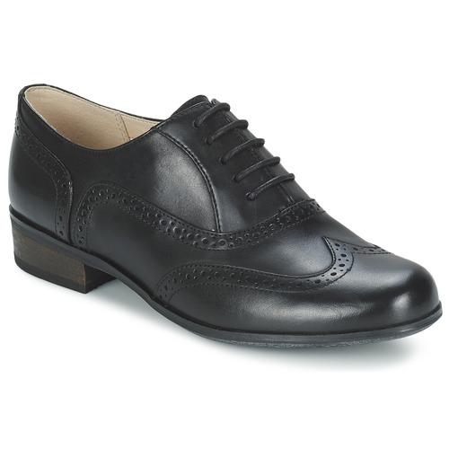 Shoes Women Brogue shoes Clarks HAMBLE OAK Black