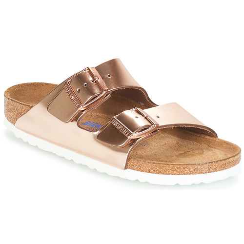 Birkenstock Arizona Sfb Gold Fast Delivery Spartoo Europe Shoes Mules Women 100 00