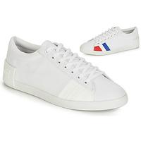 Shoes Women Low top trainers Le Coq Sportif FLAG White
