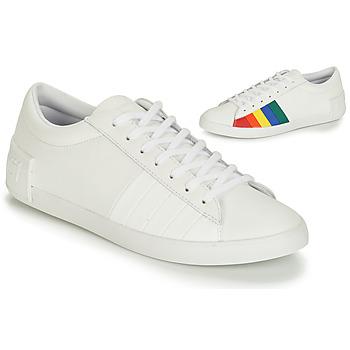 Shoes Women Low top trainers Le Coq Sportif FLAG White / Multicolour