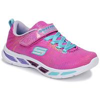 Shoes Girl Low top trainers Skechers LITEBEAMS Pink