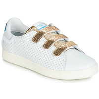 Shoes Women Low top trainers Serafini J.CONNORS White / Gold
