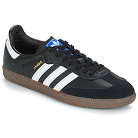 Shoes Low top trainers adidas Originals SAMBA OG Black / White