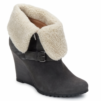 Shoes Women Ankle boots Atelier Voisin CARLA Grey