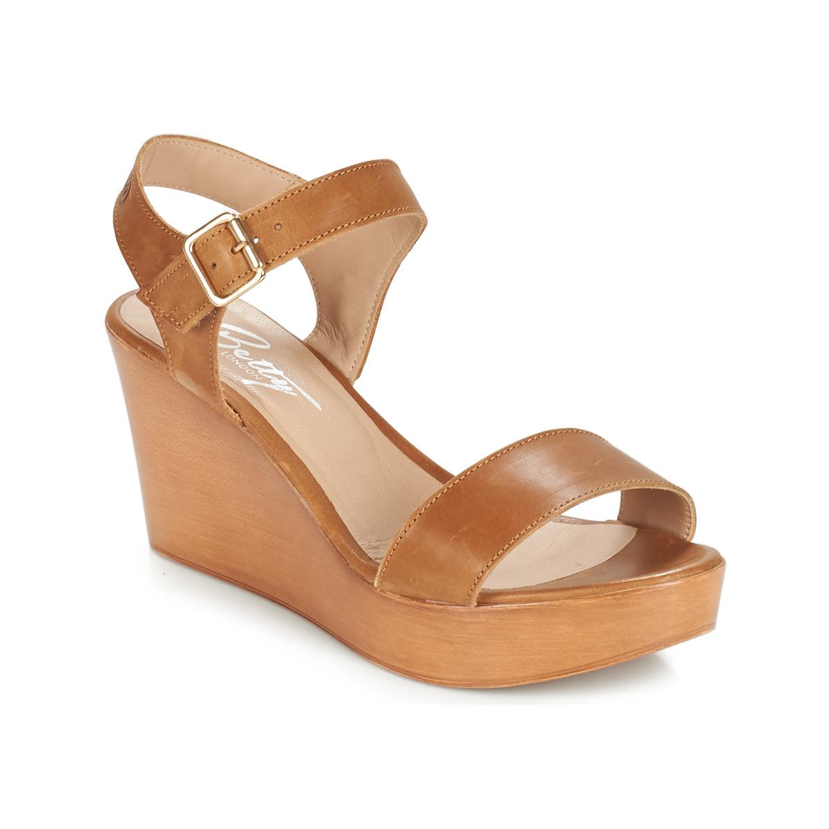 Sandals Betty London CHARLOTA Brown