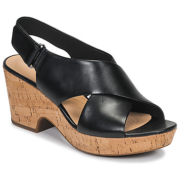 Shoes Women Sandals Clarks MARITSA LARA Black