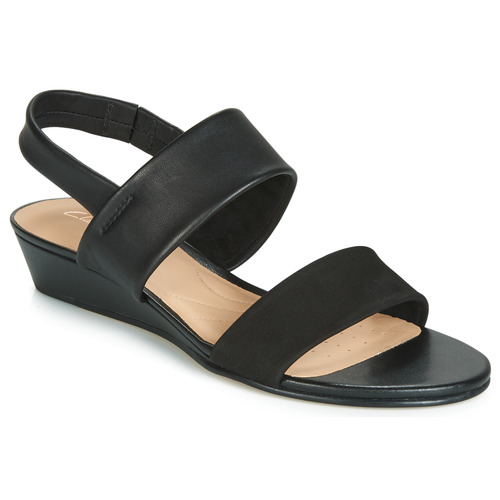 5cc6f0fbe1c2 Clarks SENSE LILY Black - Fast delivery with Spartoo Europe ...