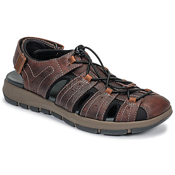 Shoes Men Sports sandals Clarks BRIXBY COVE Brown