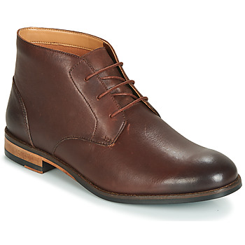 Shoes Men Mid boots Clarks FLOW TOP Brown