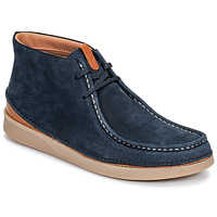 Shoes Men Mid boots Clarks OAKLAND MID Marine