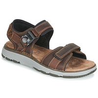 Shoes Men Sandals Clarks UN TREK PART Brown