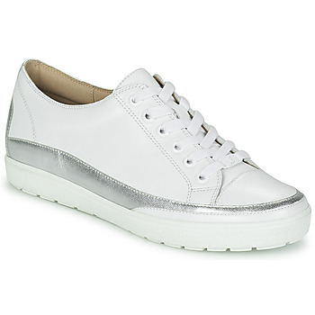 Shoes Women Low top trainers Caprice BUSCETI White / Silver