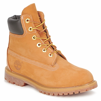 Shoes Women Mid boots Timberland 6 IN PREMIUM BOOT Wheat / Nubuck