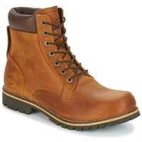 Shoes Men Mid boots Timberland EK RUGGED 6 IN PLAIN TOE BOOT Brown / Dark