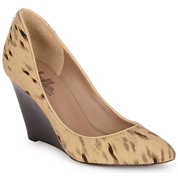 Shoes Women Court shoes Belle by Sigerson Morrison HAIRMIL Beige /  black