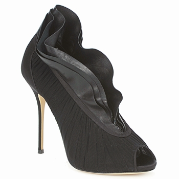 Court-shoes Casadei 8066N126 Peplum nero 350x350