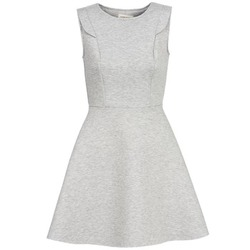 material Women Short Dresses Naf Naf ELOLA Grey