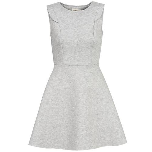 material Women Short Dresses Naf Naf ELOLA Grey