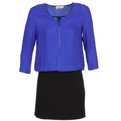 material Women Short Dresses Naf Naf KIMON DR Blue / Black