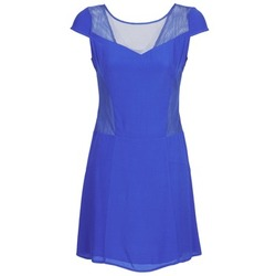 material Women Short Dresses Naf Naf KLAK Blue
