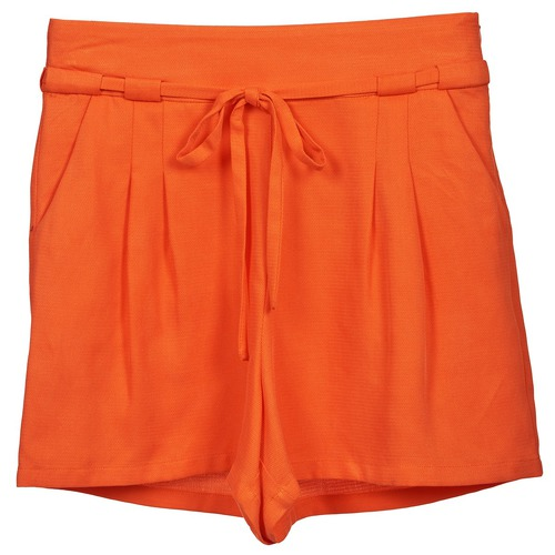 material Women Shorts / Bermudas Naf Naf KUIPI Orange