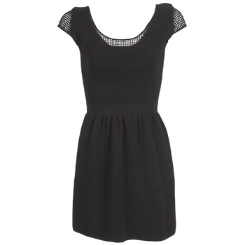 material Women Short Dresses Naf Naf MANGUILLA Black