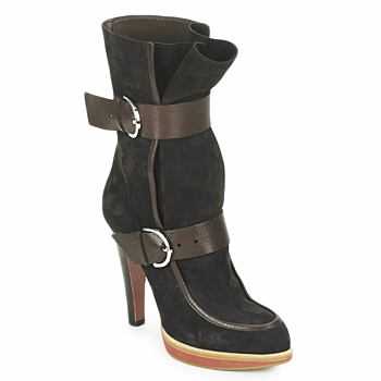 Shoes Women Ankle boots Michel Perry WILD Madras-brown