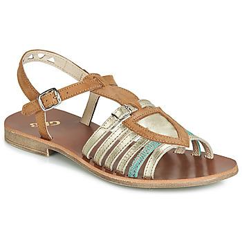 Shoes Girl Sandals GBB FANNI Vtc / Brown gold