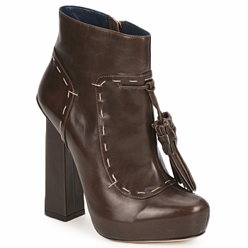 Shoes Women Ankle boots Pollini PA2405 Tmoro