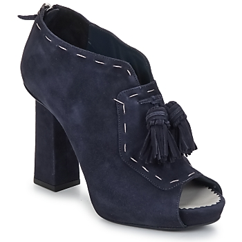 Shoes Women Low boots Pollini PA1620 Navy