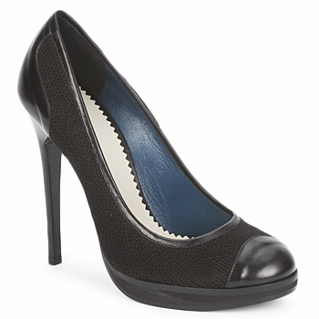 Shoes Women Court shoes Pollini PA1010 Lima lana nero