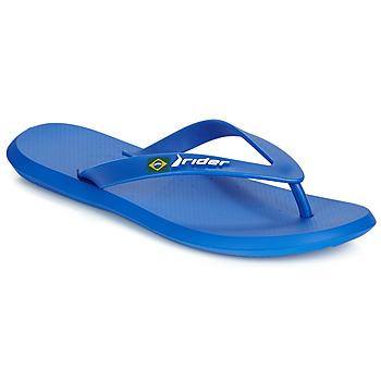 Shoes Men Flip flops Rider R1 Blue